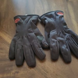 Cold gear riding gloves
